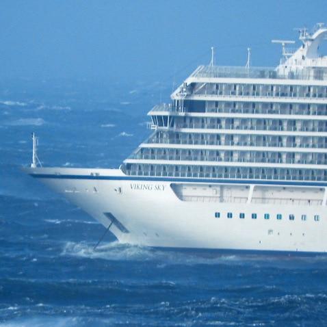 Cruise ship Viking Sky.