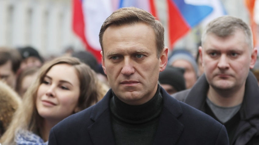 Image for read more article 'Russia has dismissed calls for sanctions over detention of opposition politician Alexei Navalny'