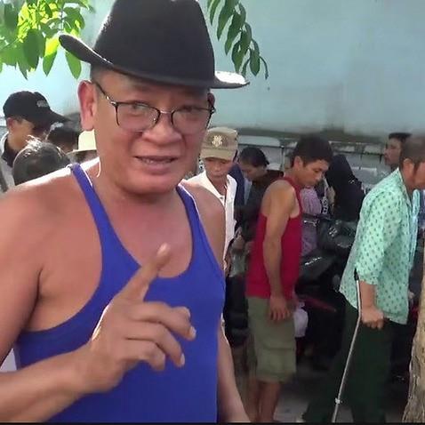 Anh Ba Cu Nguyễn Thanh Cường và Cơm có thịt miễn phí