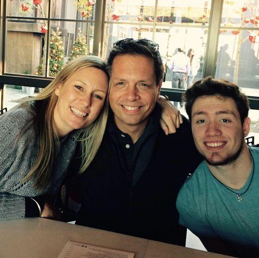 Justine Damond, Don Damond and Zach Damond