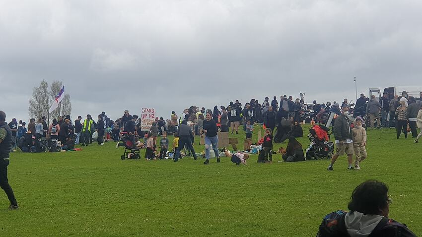 Image for read more article 'Anti-lockdown protesters rally in New Zealand as 27 new COVID-19 cases recorded'