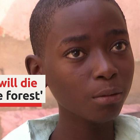 ナイジェリアの男子生徒が誘拐事件について語る