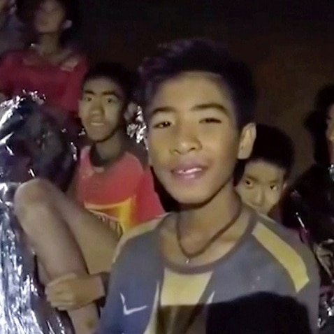 Four Thai boys rescued from cave in good condition, says Interior Minister