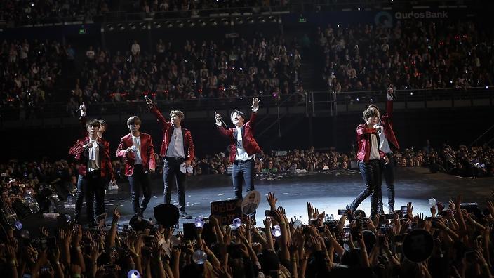 BTS concert in Sydney, 2017