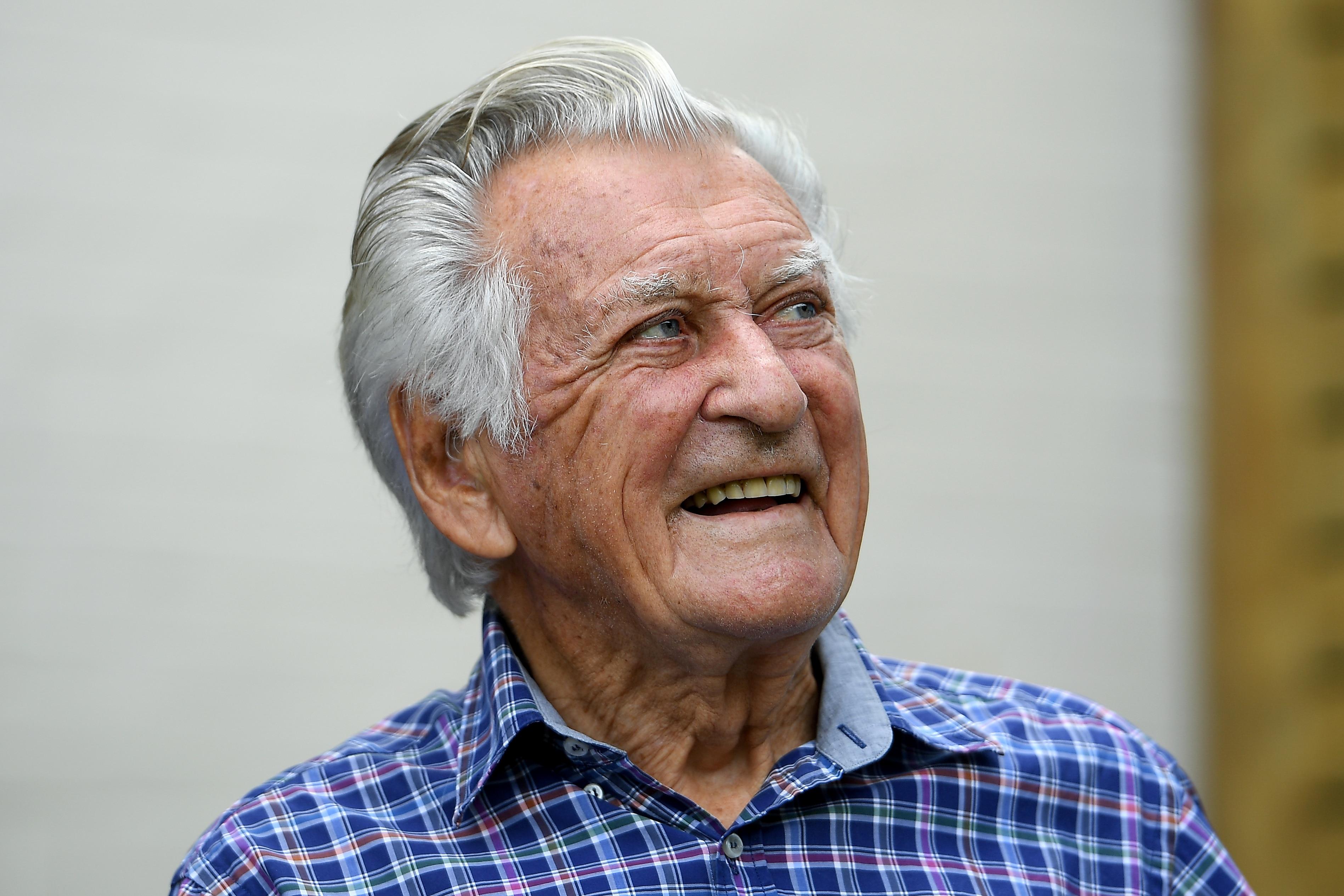 Bob Hawke on his 88th birthday.
