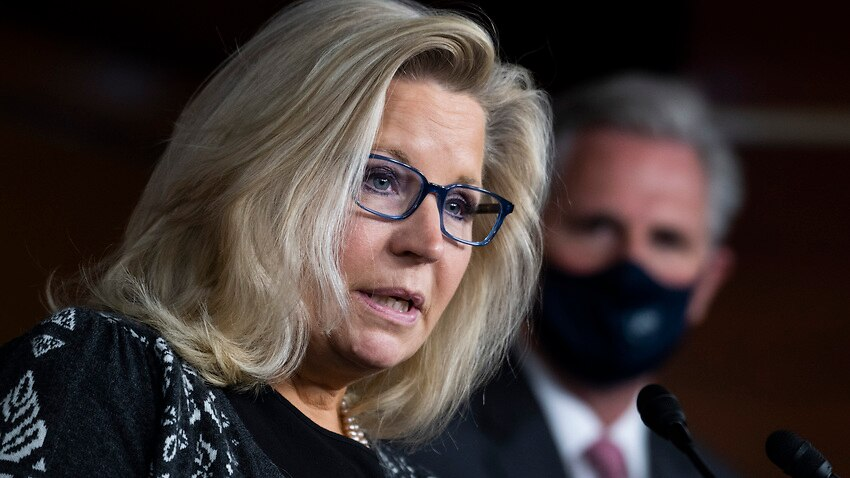 Liz Cheney was one of 10 Republican House Republicans who voted to impeach Donald Trump.