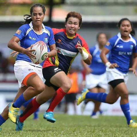 Samoa Rugby Union coach, Filoi Eneliko, is helping empower women and girls in Samoa.