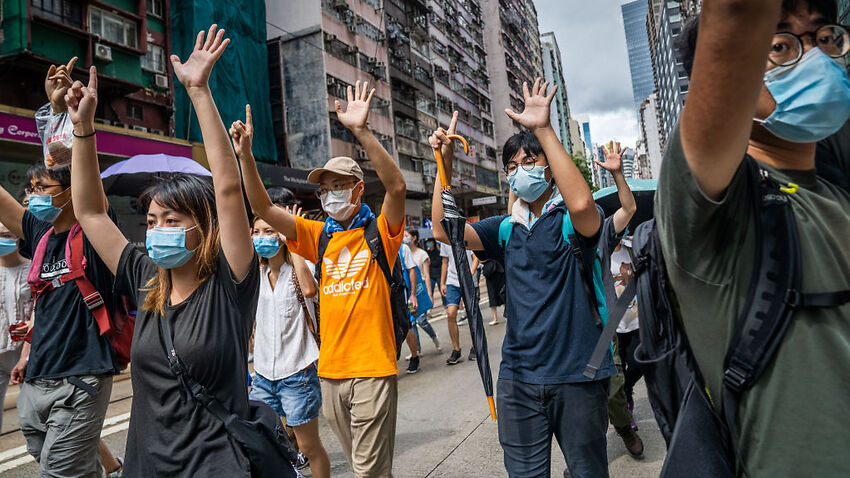 China takes aim at Australia and Britain over the fate of Hong Kongers under new security law – SBS News