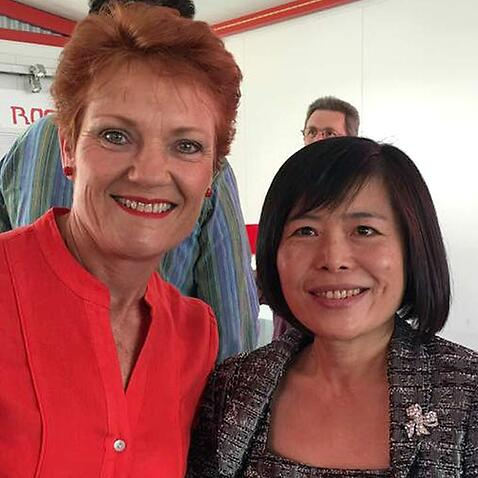 Pauline Hanson and Shan Ju Lin