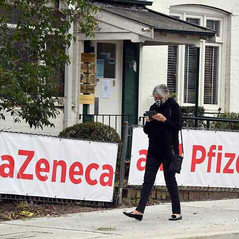 Signs of AstraZeneca and Pfizer vaccines