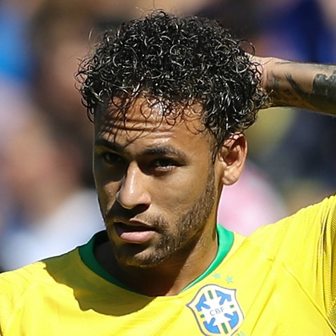 Neymar returns to Brazil training after injury scare