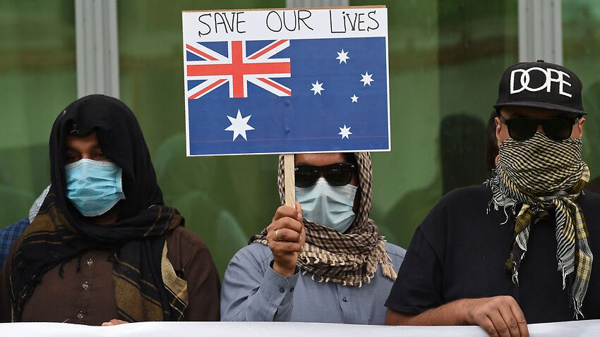 Image for read more article 'Australia says it is working 'urgently' to help Afghan interpreters placed on Taliban kill list'