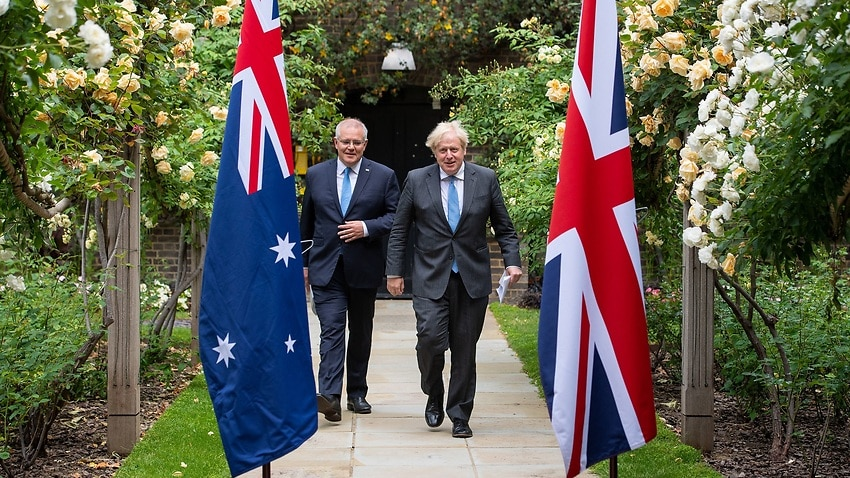 Image for read more article 'Emails reveal climate targets dropped from Australia's trade deal with UK'