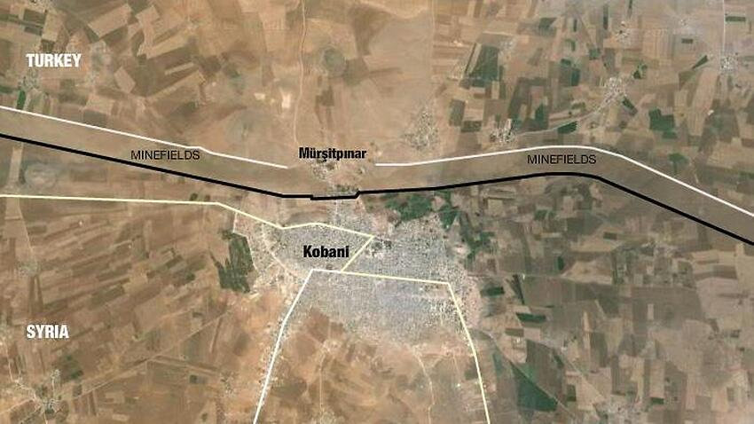 In maps: Kurds hold out against Islamic State in Kobani