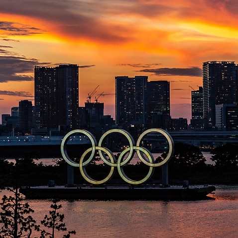 Final Preparations Are Made Ahead Of The Tokyo Olympics.