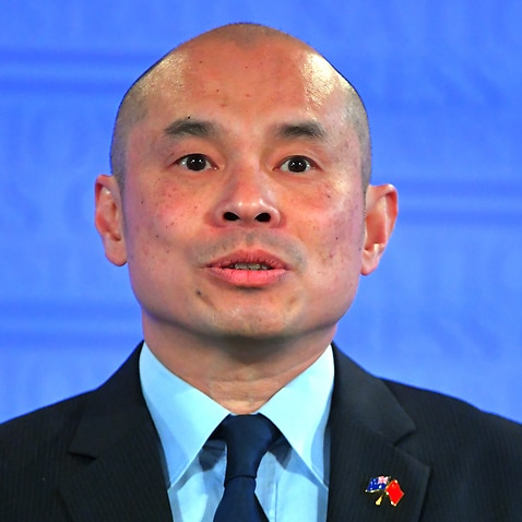 Deputy Head of Mission of the Chinese Embassy in Australia Wang Xining.