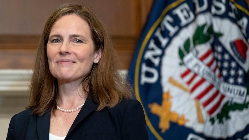 US Supreme Court Justice Amy Coney Barrett