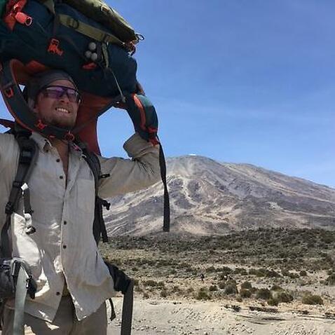 Jonathan Ljunqvist and Mt Kilimanjaro