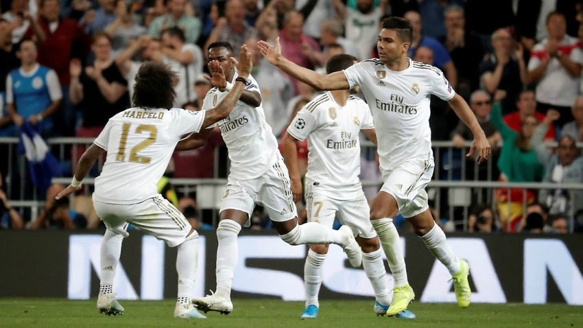 Casemiro equaliser helps Real avoid shock Champions League loss