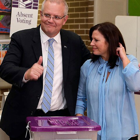 Polling day has arrived as Australians head to the ballot box to decide the make-up of the country's federal parliament.