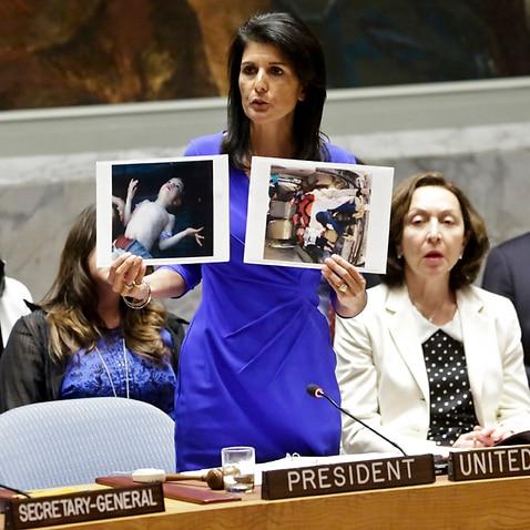 Nikki Haley, United States' Ambassador United Nations