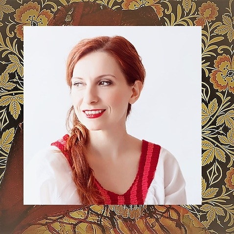 Greek performer Katerina Douka.