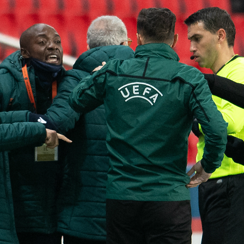 Alleged racist incident in UEFA Champions League