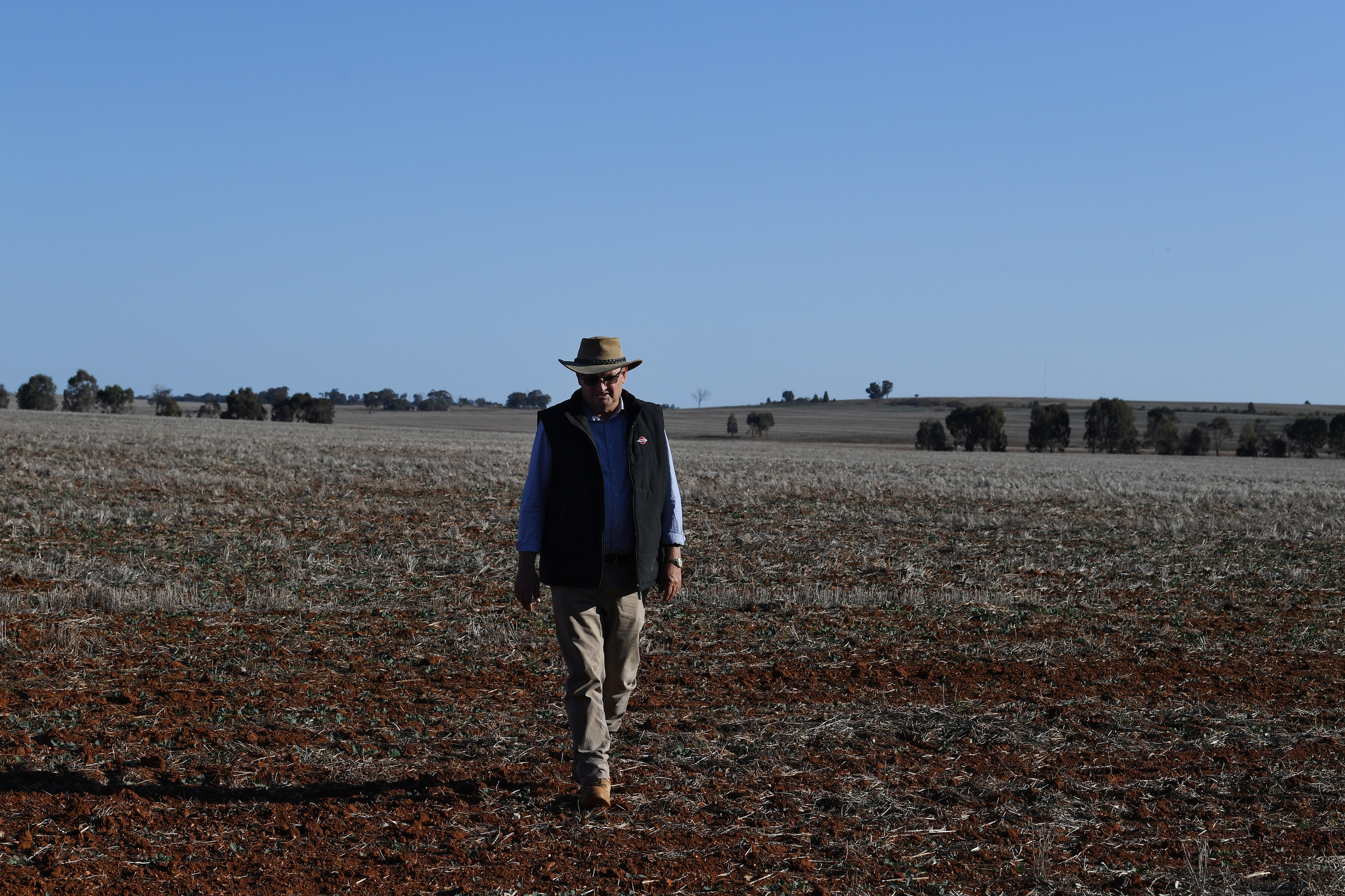 People living in rural Australia are particularly susceptible to increased rates of mental illness due to the effects of climate change.