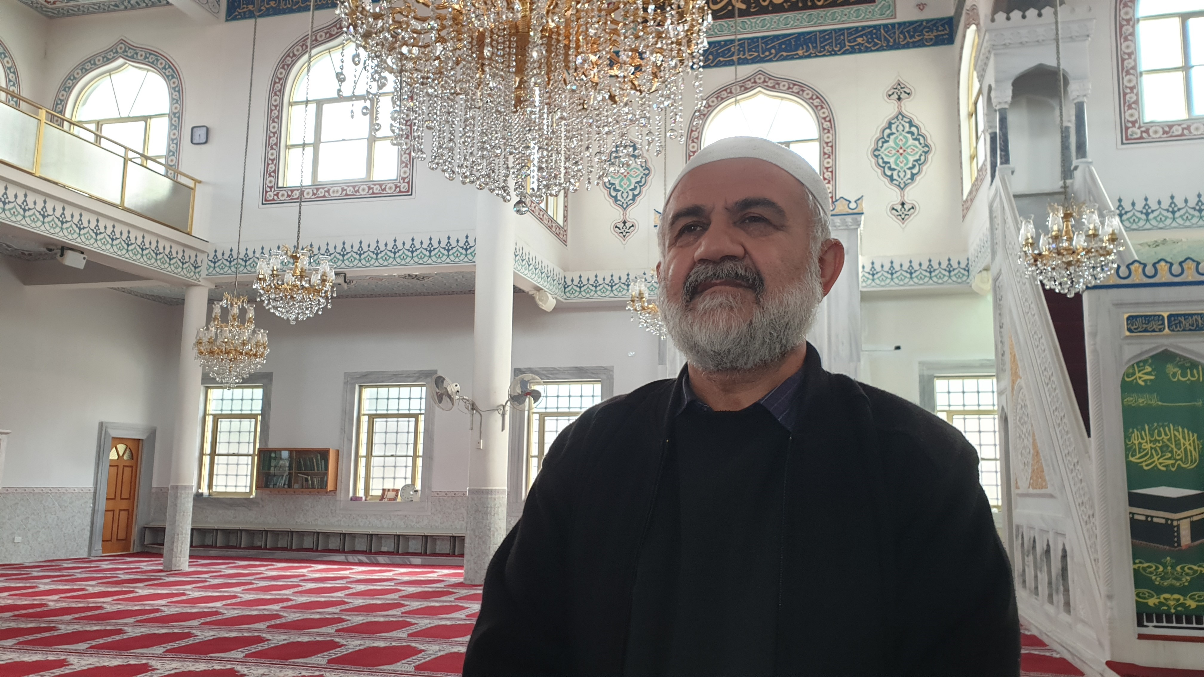 Ergan Genel says he is concerned about hundreds turning up for services at Auburn Gallipoli Mosque.