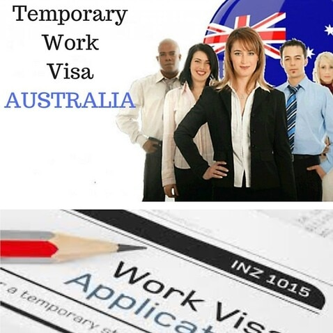 Temporary job visa in Australia