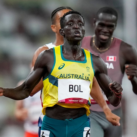 Peter Bol was the first Australian man to run in the 800m Olympic final since 1968.