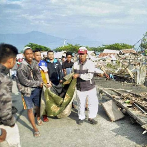 Indonesia tsunami: Whole villages swallowed by mud in Palu