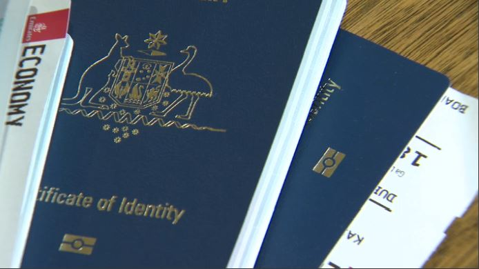 Each member of the Kassis family was granted a Certificate of Identity from the Australian Government.