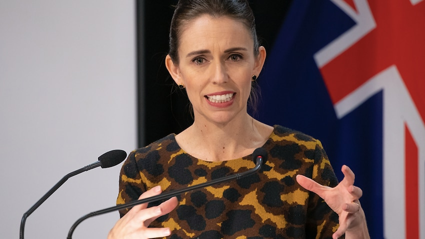 Image for read more article 'September start for Australia-NZ travel bubble 'realistic', Jacinda Ardern says'