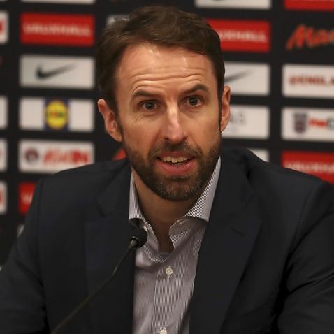 Gareth Southgate England 2018 FIFA World Cup Russia