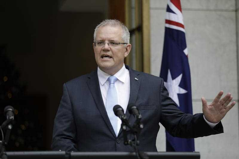 Scott Morrison said the government would not be signing the UN Global Compact on Migration.