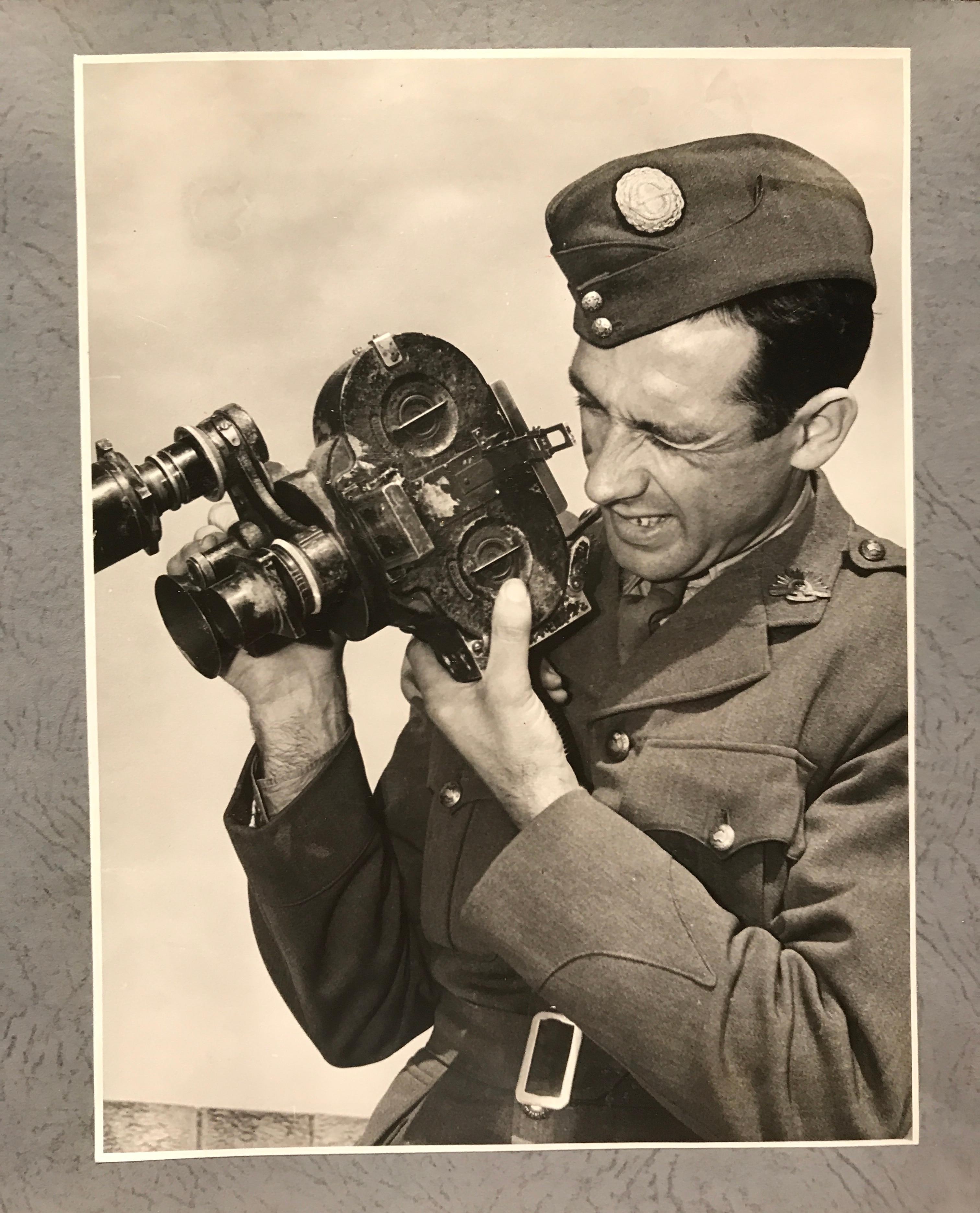 Australian war cameraman, Damien Parer.