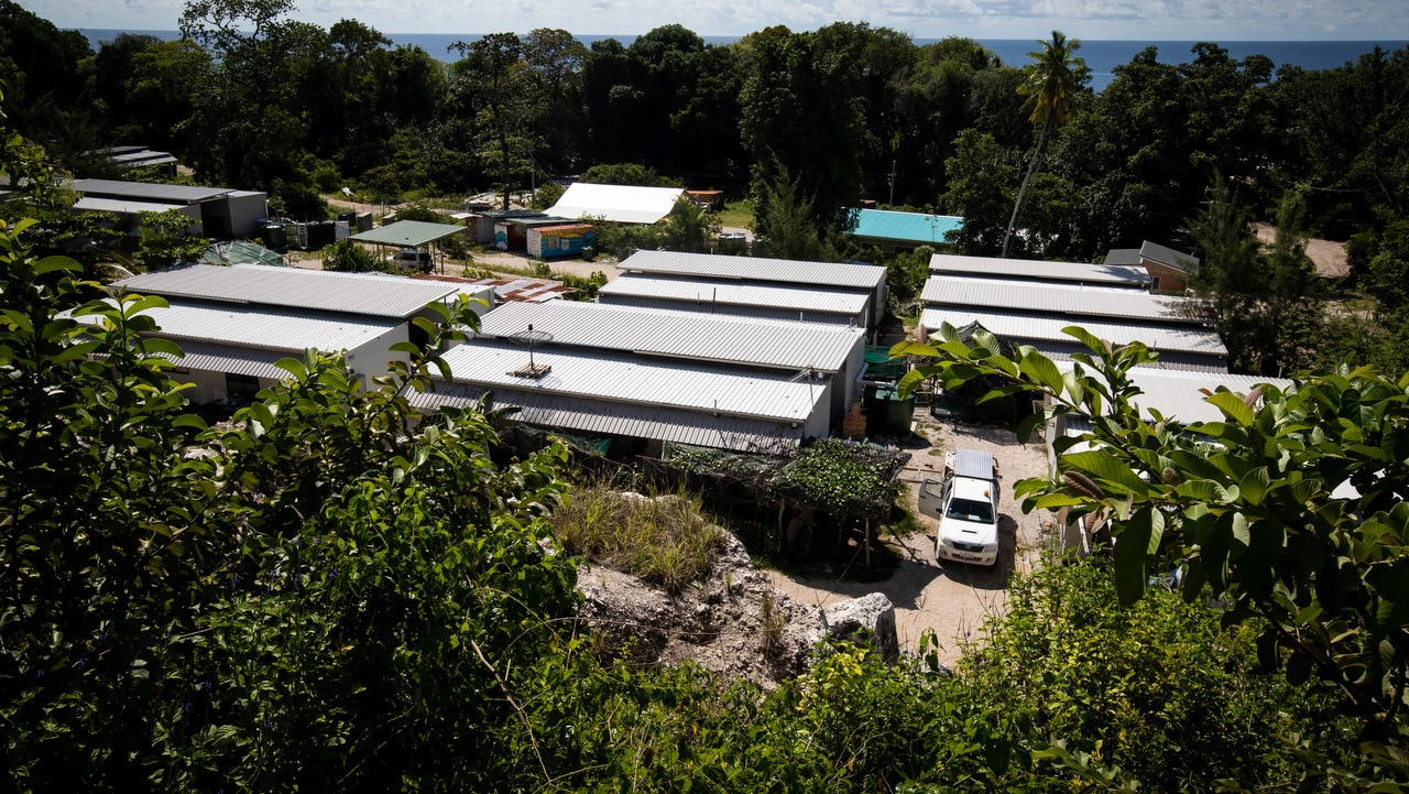 The Nibok refugee settlement on Nauru in September.
