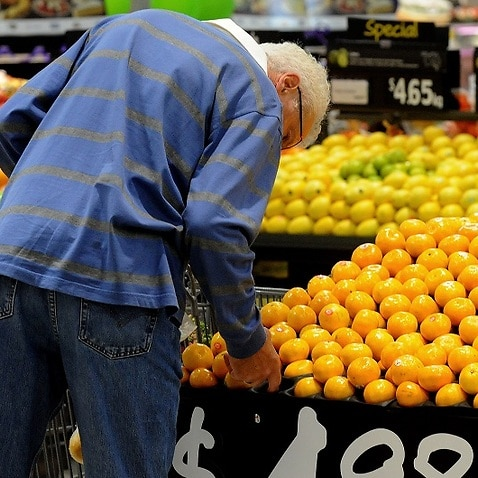 While some price are falling, some are going up, such as fruit prices which grew by 9.3 per cent.