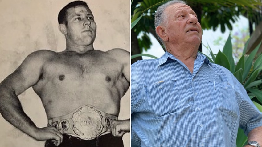 Image for read more article ''Wrestling made me a household name in Australia - I still get recognised today''