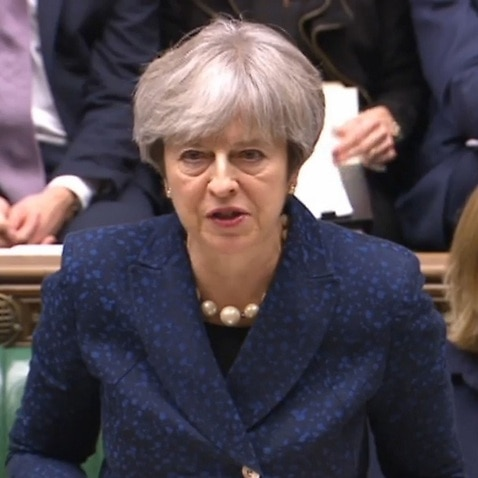 Prime Minister Theresa May gives a statement on Brexit in the House of Commons, London.. Picture date: Monday December 11, 2017. See PA story POLITICS Brexit. Photo credit should read: PA Wire