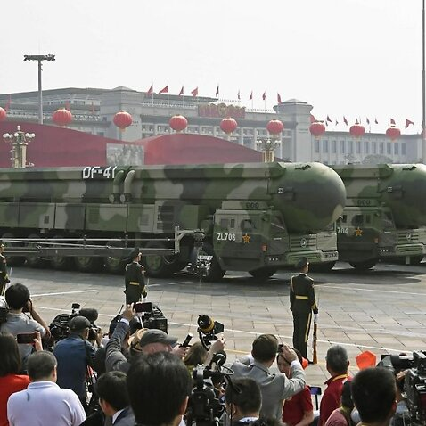 To mark 70 years of Communist rule, China shows off new weapons