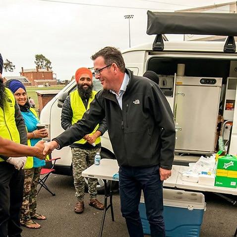 Sikh volunteers