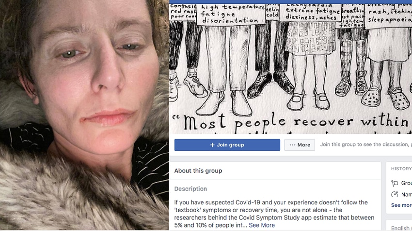 Joanna Halls and the Long Covid Support Group
