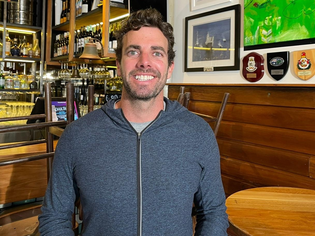Glen Collins is the manager of Canberra bar the Dock.