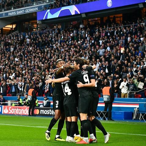 Red Star Belgrade UEFA Champions League Paris Saint-Germain