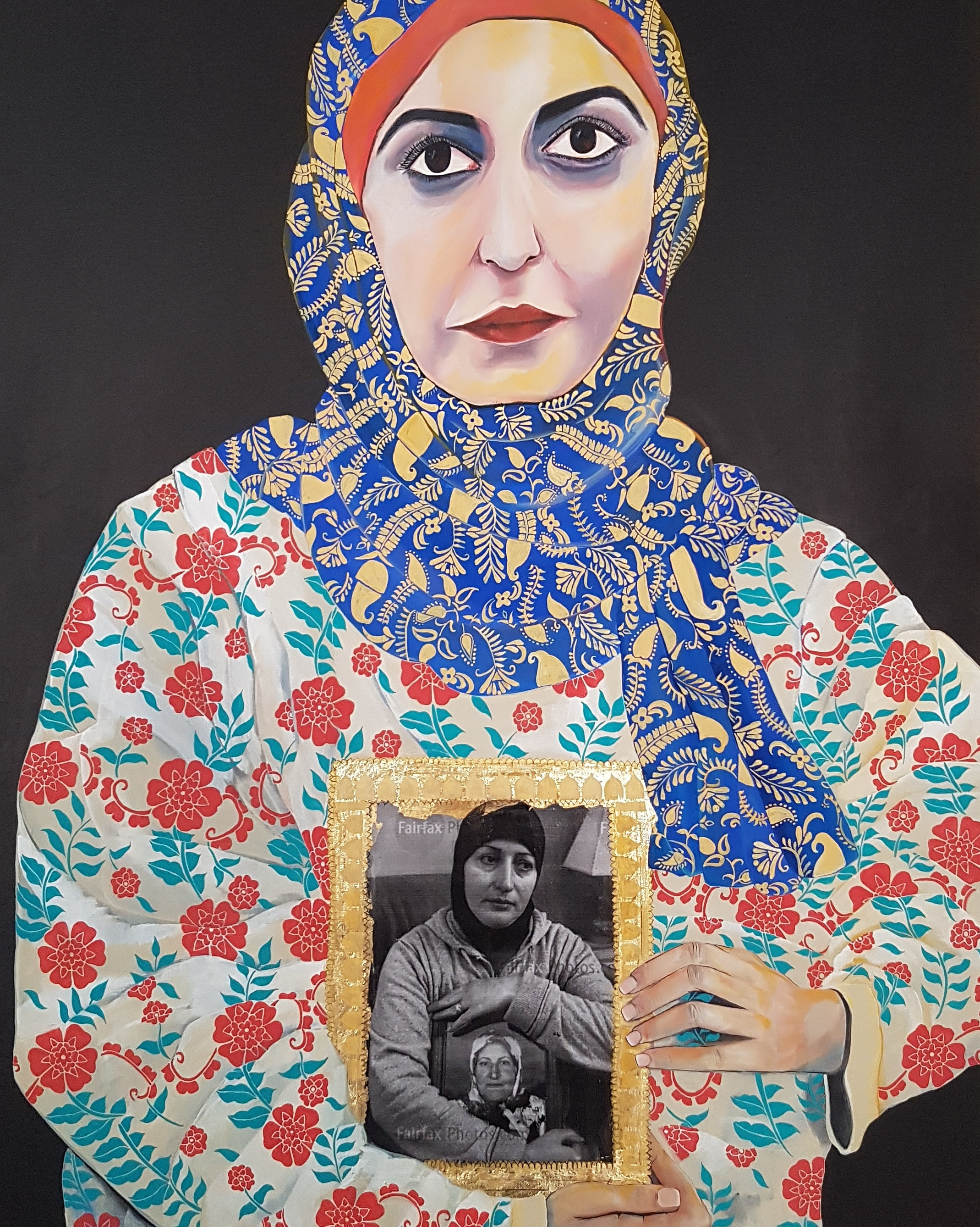 Finalist in the 2018 Archibald Prize. Currently on Display at Fairfield City Museum and Gallery