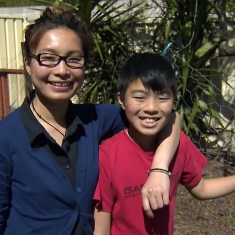 Sidney Vo and her son Billy