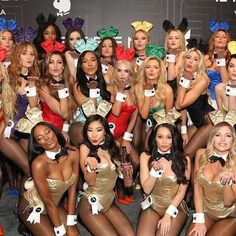 Playboy models.