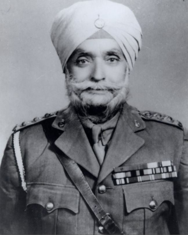 Captain Ishar Singh, the first Sikh soldier to win a Victoria Cross
